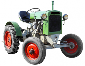 A simple farming Tractor