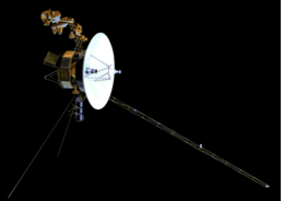 'Voyager' The NASA probe on a mission