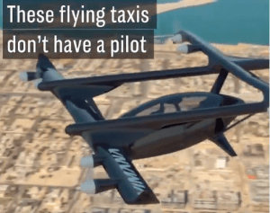 The eVTOL Passenger drone