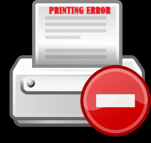 Printer and its printing problems