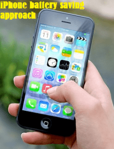 reduction of power consumption in iPhones